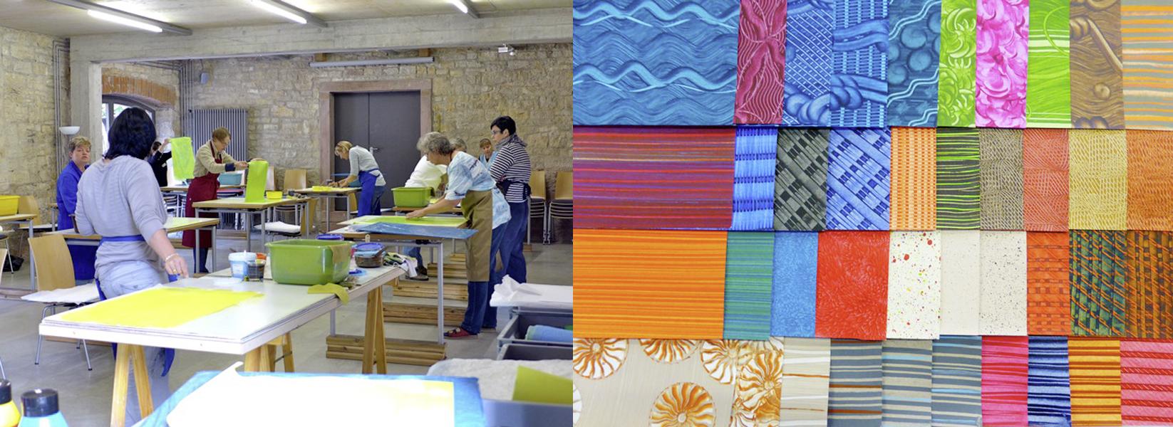 Papierscheune Homburg Buntpapierwerkstatt