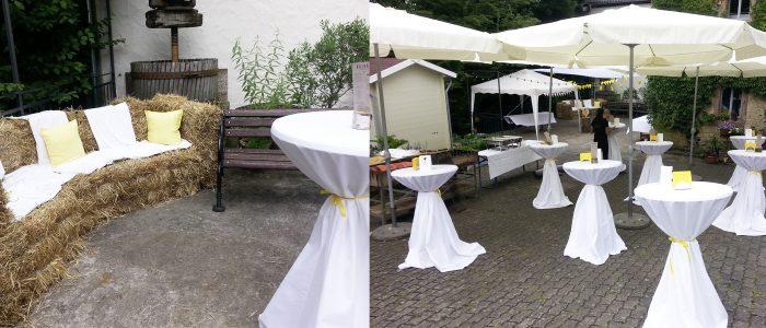 Papierscheune Homburg in historischer Umgebung - Die Räumlichkeiten